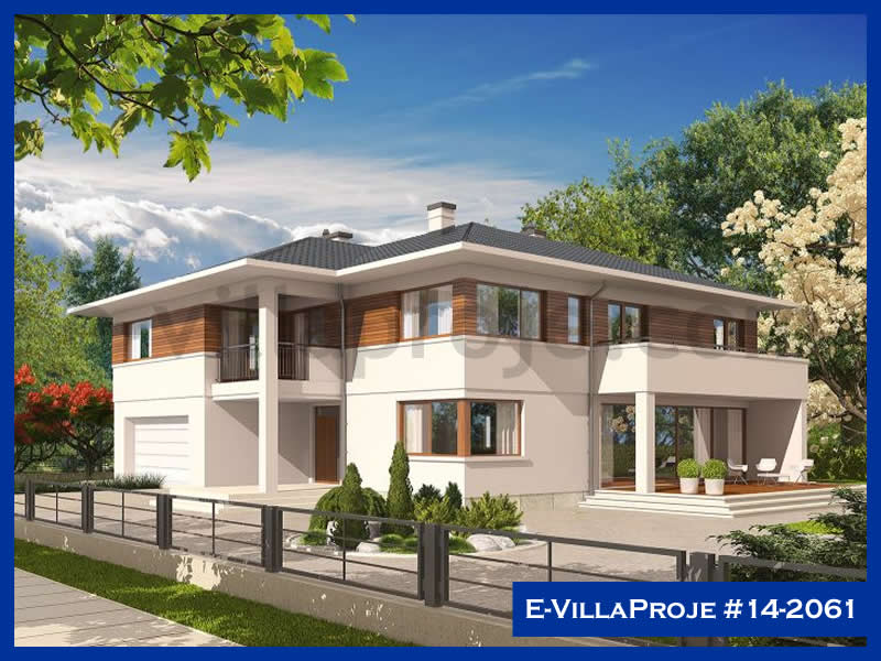 E-VillaProje #14-2061, 2 katlı, 5 yatak odalı, 313 m2