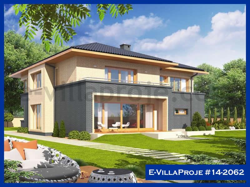 E-VillaProje #14-2062, 2 katlı, 5 yatak odalı, 2 garajlı, 258 m2