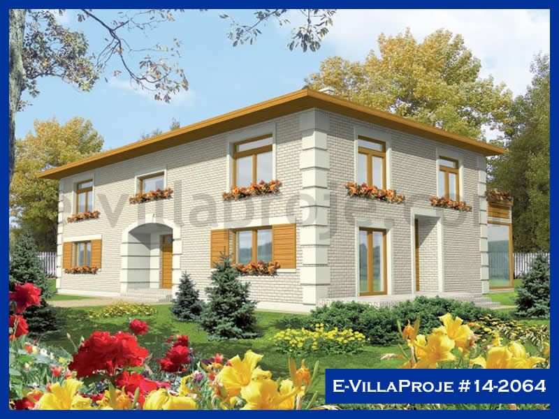 E-VillaProje #14-2064, 2 katlı, 4 yatak odalı, 390 m2