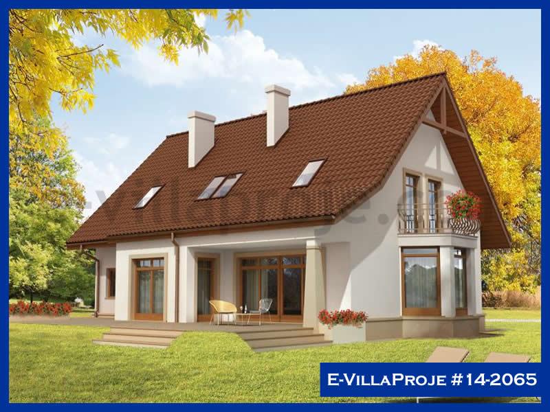 E-VillaProje #14-2065, 2 katlı, 4 yatak odalı, 1 garajlı, 225 m2