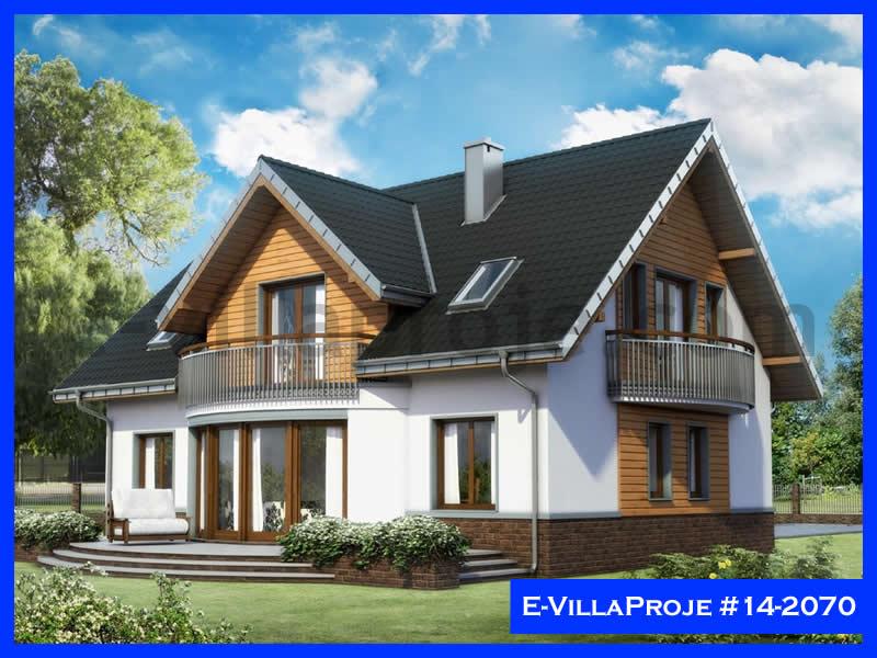 E-VillaProje #14-2070, 2 katlı, 5 yatak odalı, 248 m2