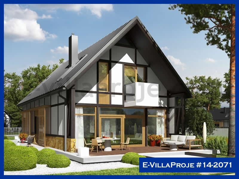 E-VillaProje #14-2071, 2 katlı, 4 yatak odalı, 240 m2