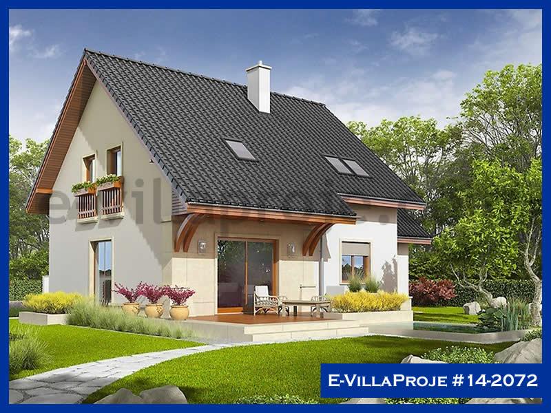E-VillaProje #14-2072, 2 katlı, 4 yatak odalı, 1 garajlı, 187 m2
