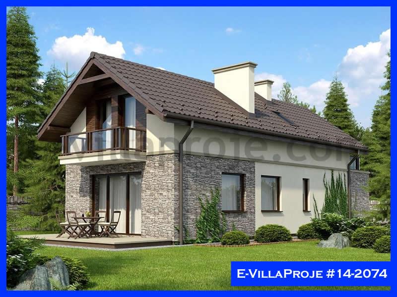 E-VillaProje #14-2074, 2 katlı, 3 yatak odalı, 1 garajlı, 161 m2