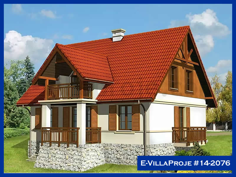 E-VillaProje #14-2076, 2 katlı, 4 yatak odalı, 223 m2