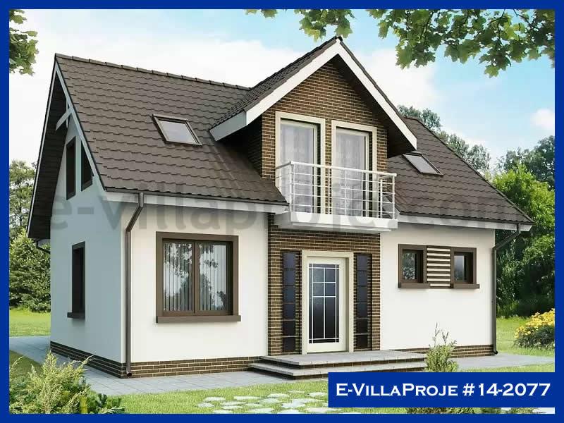 E-VillaProje #14-2077, 2 katlı, 4 yatak odalı, 184 m2