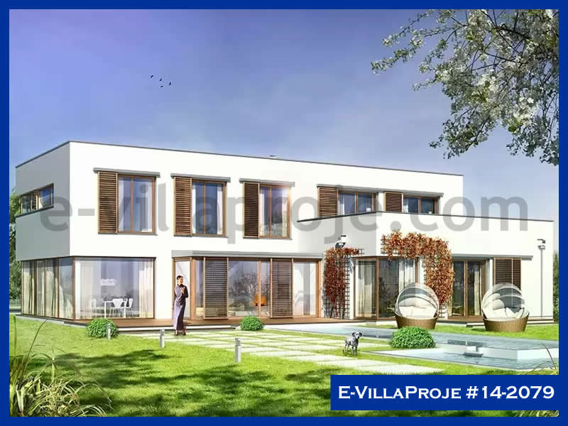 E-VillaProje #14-2079, 2 katlı, 7 yatak odalı, 2 garajlı, 436 m2