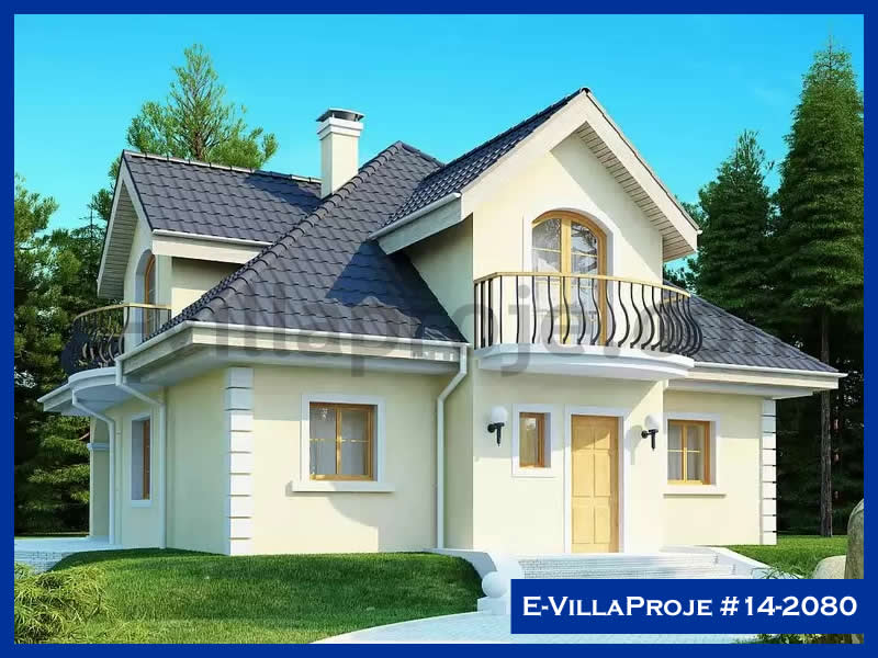 E-VillaProje #14-2080, 2 katlı, 4 yatak odalı, 202 m2
