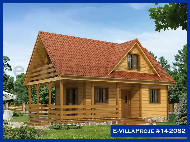 E-VillaProje #14-2082, 2 katlı, 3 yatak odalı, 95 m2