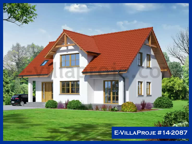 E-VillaProje #14-2087, 2 katlı, 4 yatak odalı, 210 m2