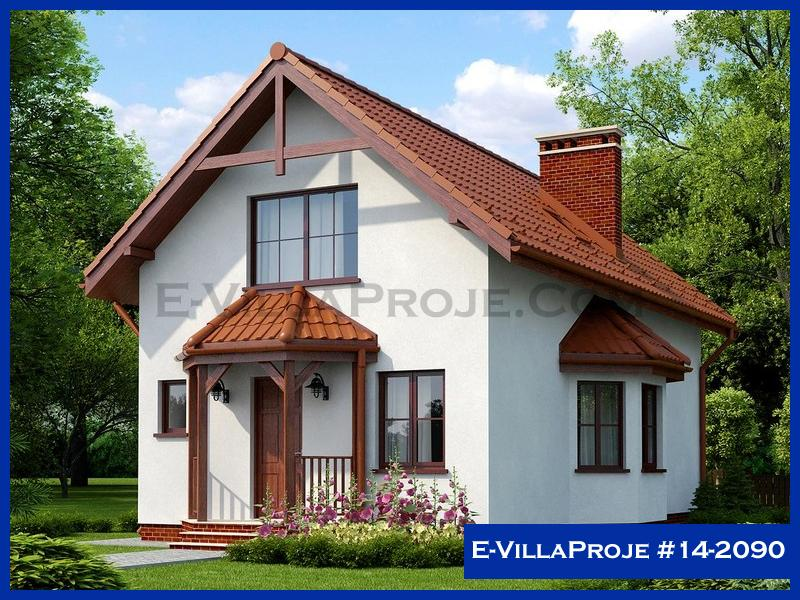E-VillaProje #14-2090, 2 katlı, 2 yatak odalı, 152 m2