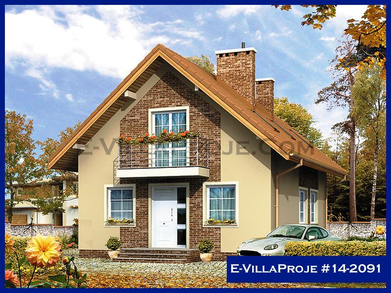E-VillaProje #14-2091, 2 katlı, 4 yatak odalı, 160 m2
