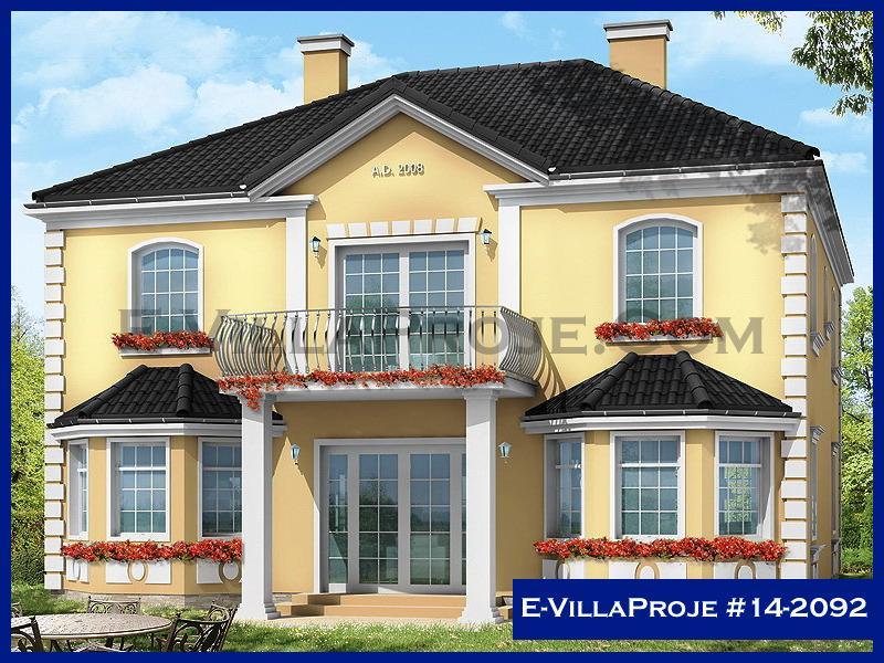 E-VillaProje #14-2092, 2 katlı, 3 yatak odalı, 2 garajlı, 219 m2
