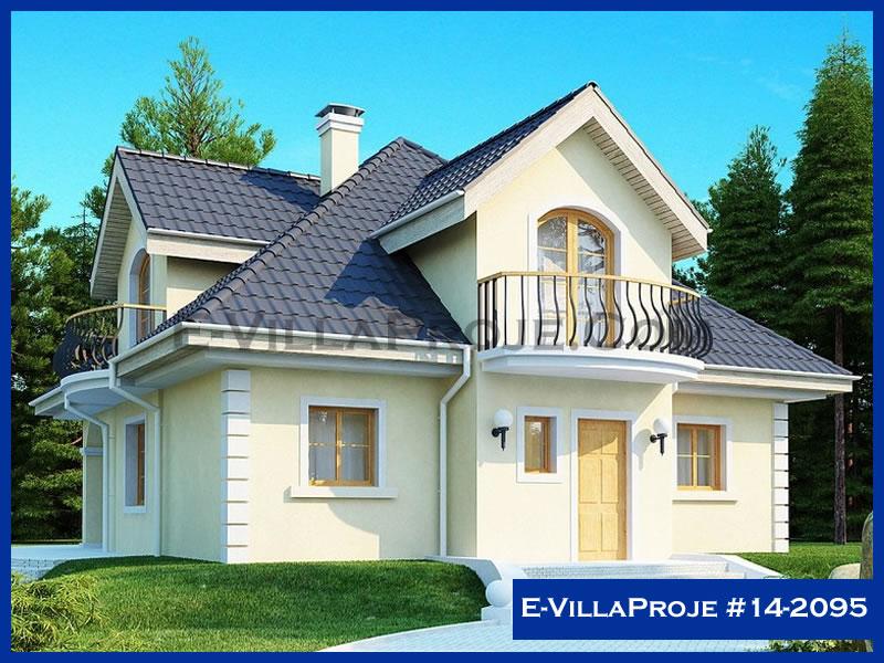 Ev Villa Proje #14 – 2095, 2 katlı, 3 yatak odalı, 200 m2