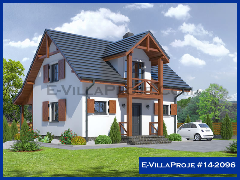 Ev Villa Proje #14 – 2096, 2 katlı, 2 yatak odalı, 0 garajlı, 128 m2