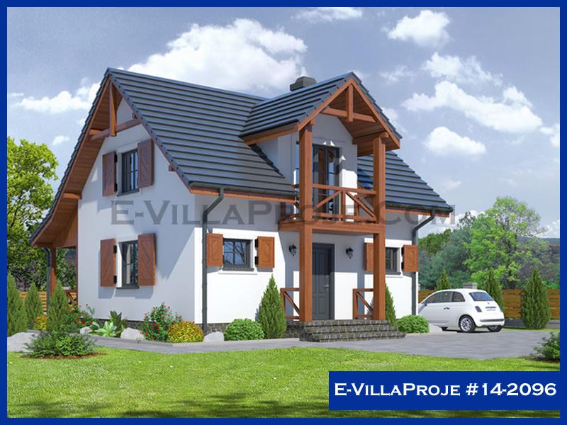 Ev Villa Proje #14 – 2096, 2 katlı, 2 yatak odalı, 128 m2