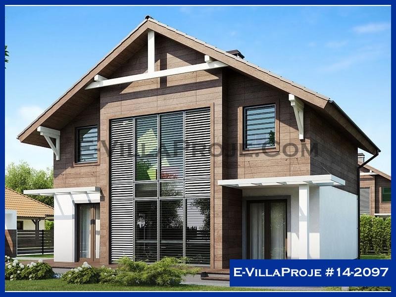 Ev Villa Proje #14 – 2097, 2 katlı, 3 yatak odalı, 158 m2