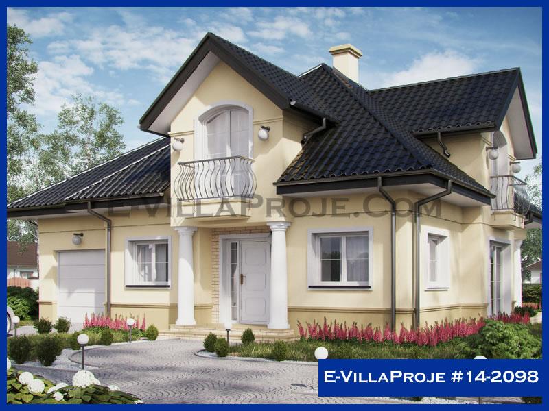 Ev Villa Proje #14 – 2098, 2 katlı, 4 yatak odalı, 1 garajlı, 230 m2