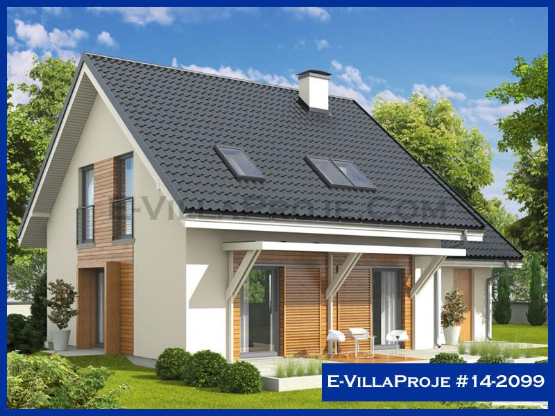 Ev Villa Proje #14 – 2099, 2 katlı, 3 yatak odalı, 1 garajlı, 158 m2