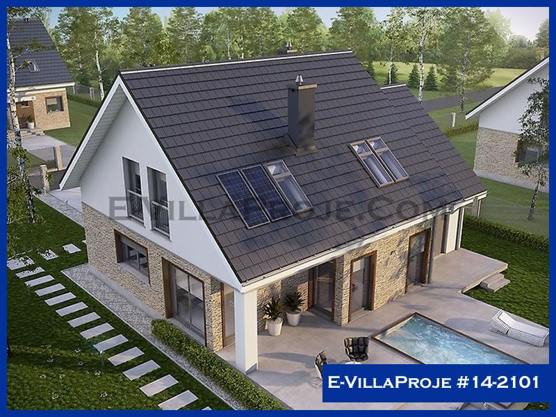 Ev Villa Proje #14 – 2101, 2 katlı, 3 yatak odalı, 179 m2