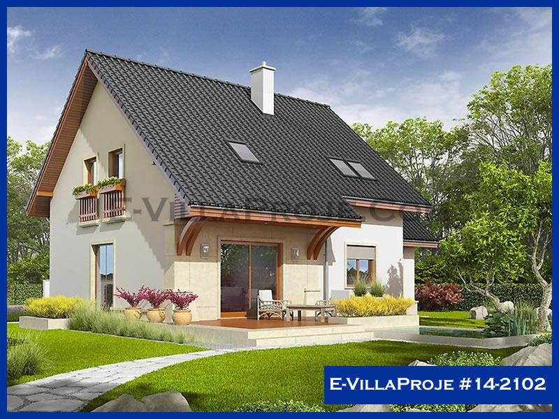 Ev Villa Proje #14 – 2102, 2 katlı, 4 yatak odalı, 168 m2