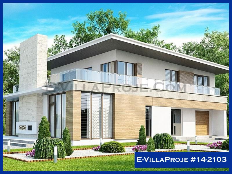 Ev Villa Proje #14 – 2103, 2 katlı, 4 yatak odalı, 1 garajlı, 275 m2