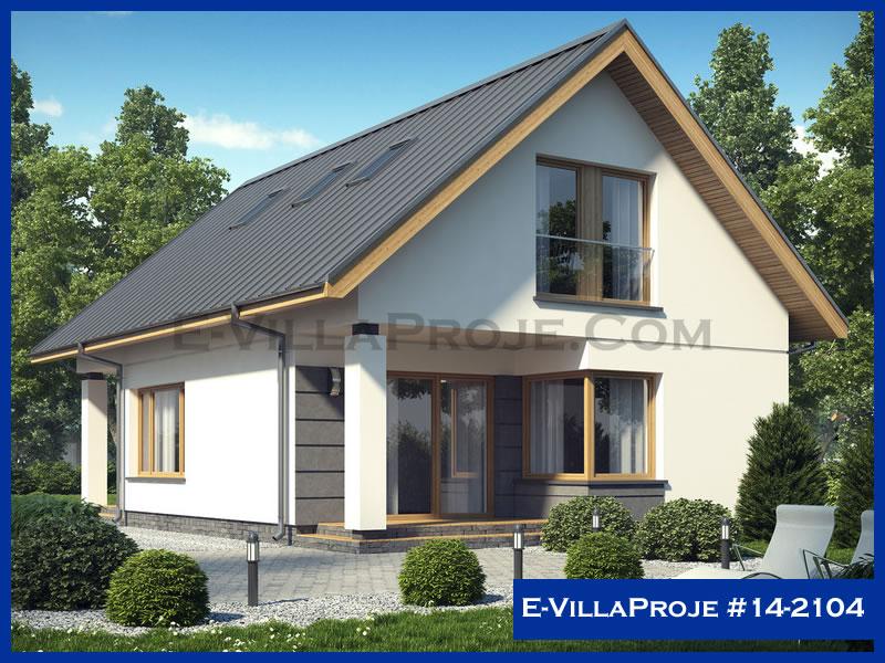 Ev Villa Proje #14 – 2104, 2 katlı, 4 yatak odalı, 166 m2