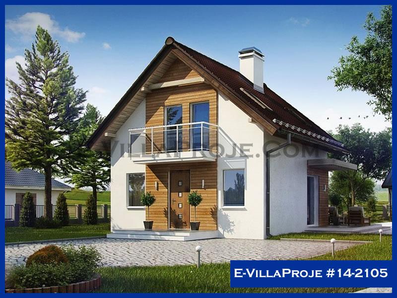 Ev Villa Proje #14 – 2105, 2 katlı, 2 yatak odalı, 110 m2