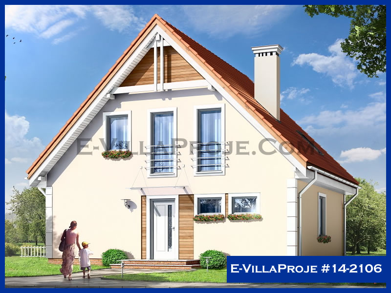 Ev Villa Proje #14 – 2106, 2 katlı, 4 yatak odalı, 0 garajlı, 181 m2