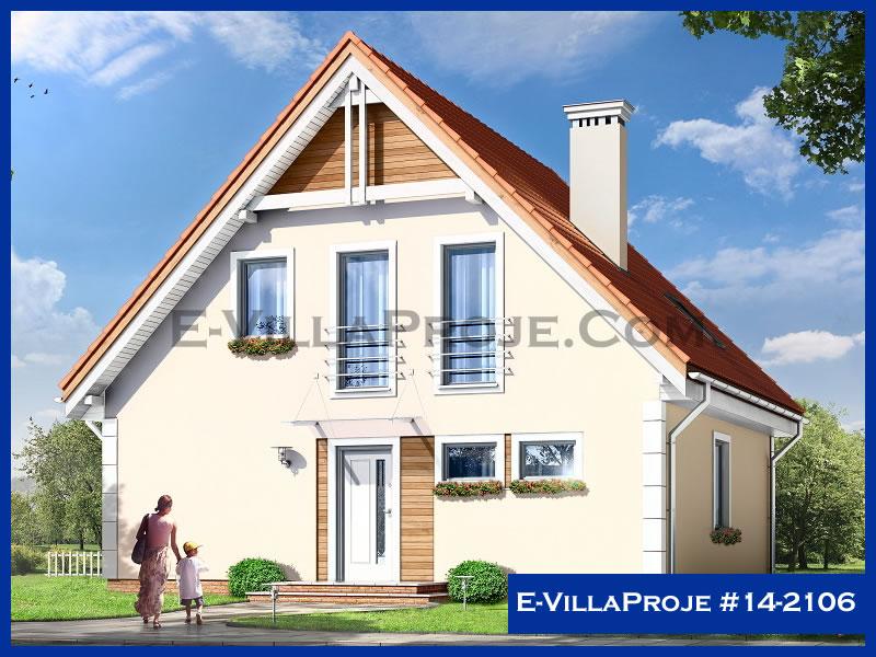 Ev Villa Proje #14 – 2106, 2 katlı, 4 yatak odalı, 181 m2