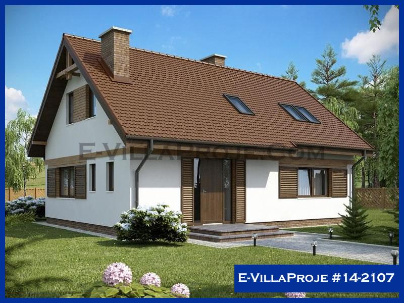 Ev Villa Proje #14 – 2107, 2 katlı, 4 yatak odalı, 191 m2