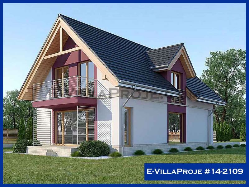 Ev Villa Proje #14 – 2109, 2 katlı, 3 yatak odalı, 190 m2