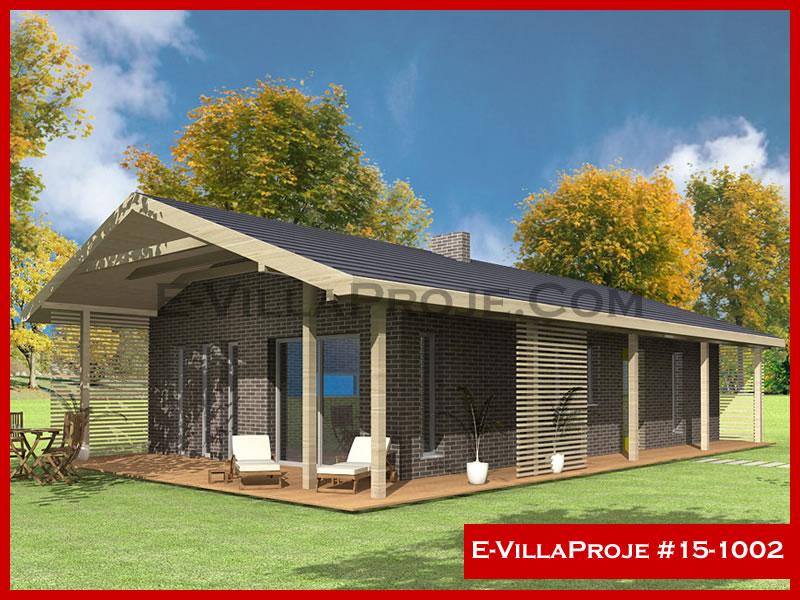 E-VillaProje #15-1002, 1 katlı, 2 yatak odalı, 0 garajlı, 104 m2