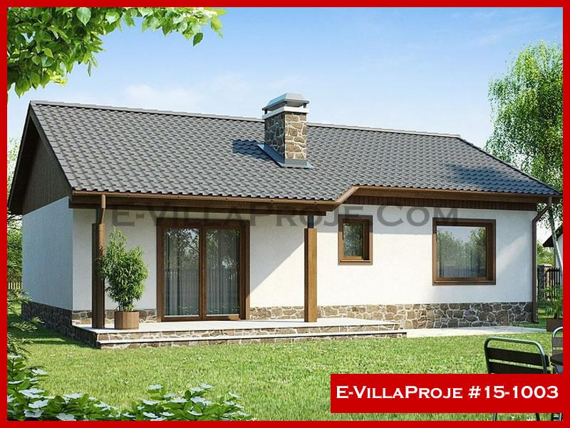 E-VillaProje #15-1003, 1 katlı, 2 yatak odalı, 92 m2