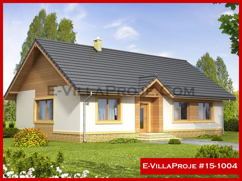E-VillaProje #15-1004, 1 katlı, 3 yatak odalı, 128 m2