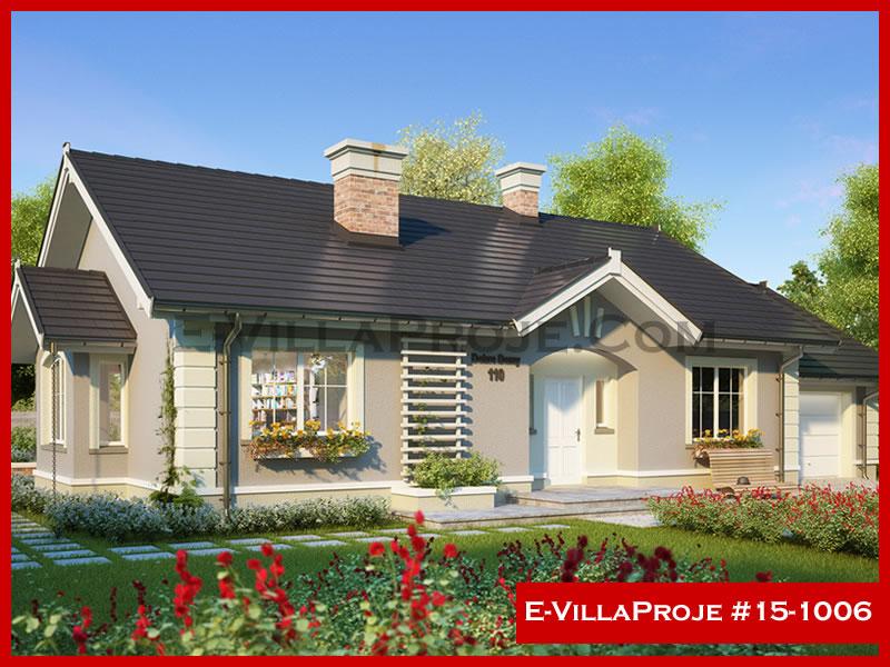 E-VillaProje #15-1006, 1 katlı, 3 yatak odalı, 144 m2