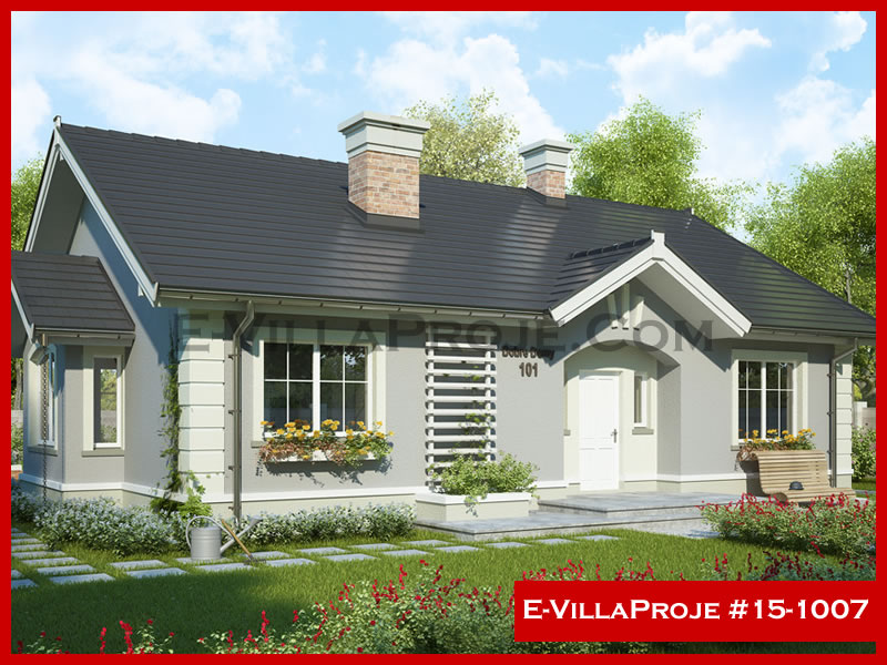 E-VillaProje #15-1007, 1 katlı, 3 yatak odalı, 144 m2