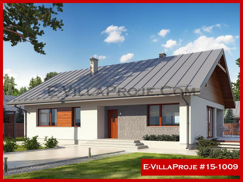 E-VillaProje #15-1009, 1 katlı, 3 yatak odalı, 140 m2
