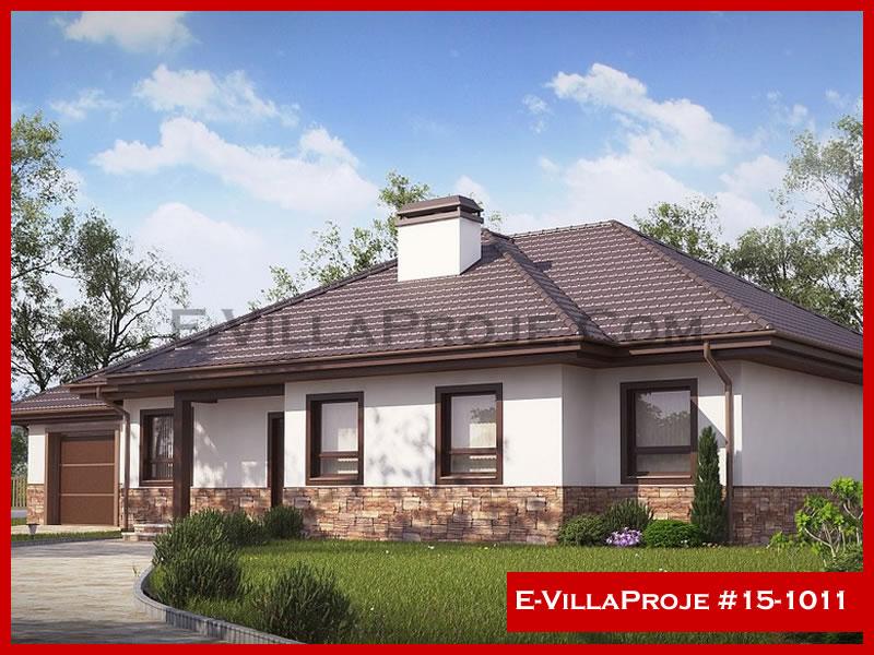 E-VillaProje #15-1011, 1 katlı, 3 yatak odalı, 1 garajlı, 137 m2