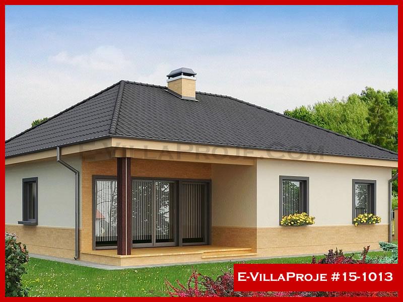 E-VillaProje #15-1013, 1 katlı, 3 yatak odalı, 138 m2