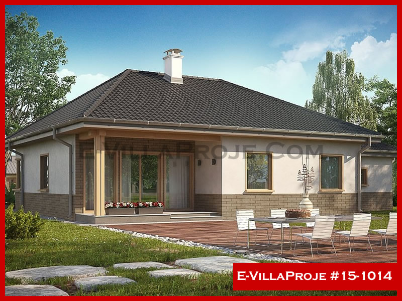 E-VillaProje #15-1014, 1 katlı, 3 yatak odalı, 138 m2