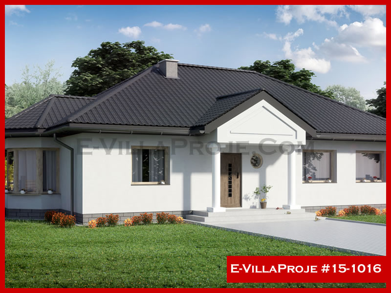 E-VillaProje #15-1016, 1 katlı, 3 yatak odalı, 158 m2