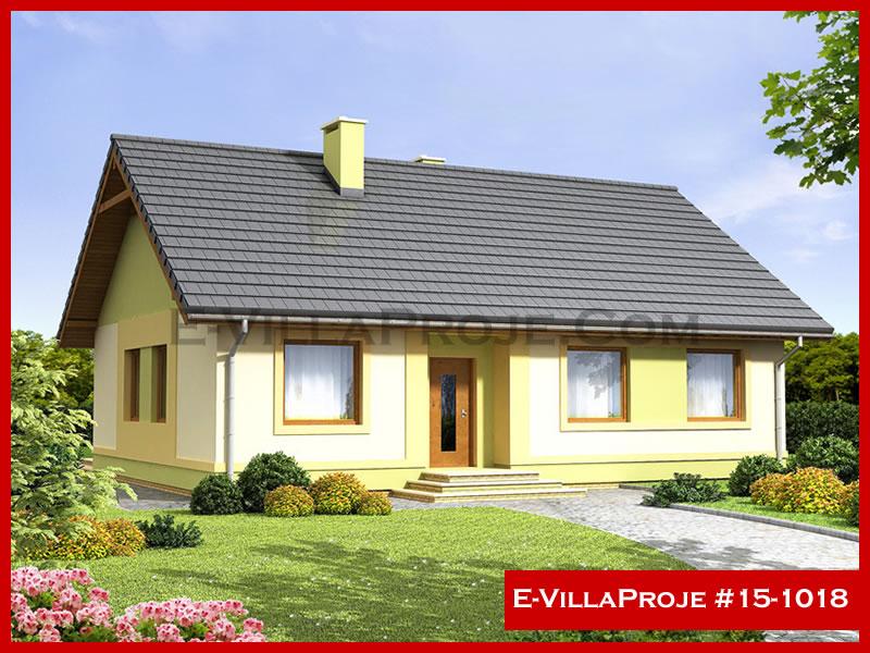 Ev Villa Proje #15 – 1018, 1 katlı, 3 yatak odalı, 106 m2
