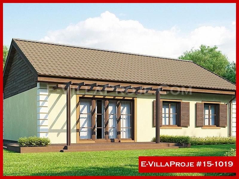 Ev Villa Proje #15 – 1019, 1 katlı, 3 yatak odalı, 120 m2