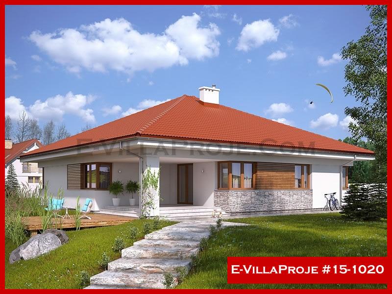 Ev Villa Proje #15 – 1020, 1 katlı, 4 yatak odalı, 2 garajlı, 188 m2