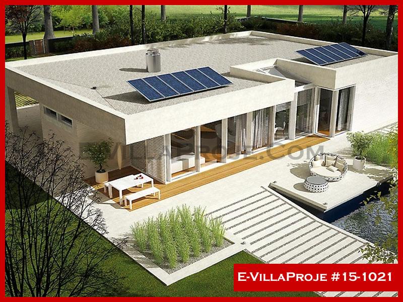 Ev Villa Proje #15 – 1021, 1 katlı, 3 yatak odalı, 2 garajlı, 267 m2