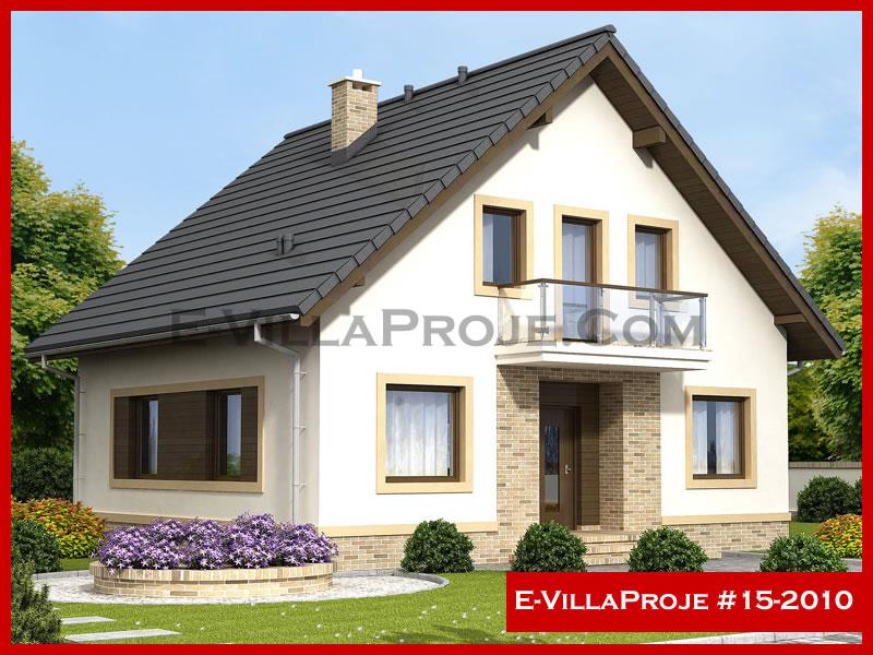 E-VillaProje #15-2010, 2 katlı, 4 yatak odalı, 0 garajlı, 180 m2