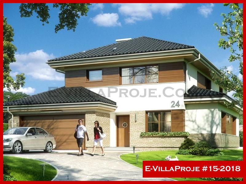 E-VillaProje #15-2018, 2 katlı, 4 yatak odalı, 284 m2