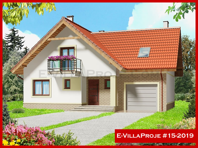 E-VillaProje #15-2019, 2 katlı, 3 yatak odalı, 219 m2