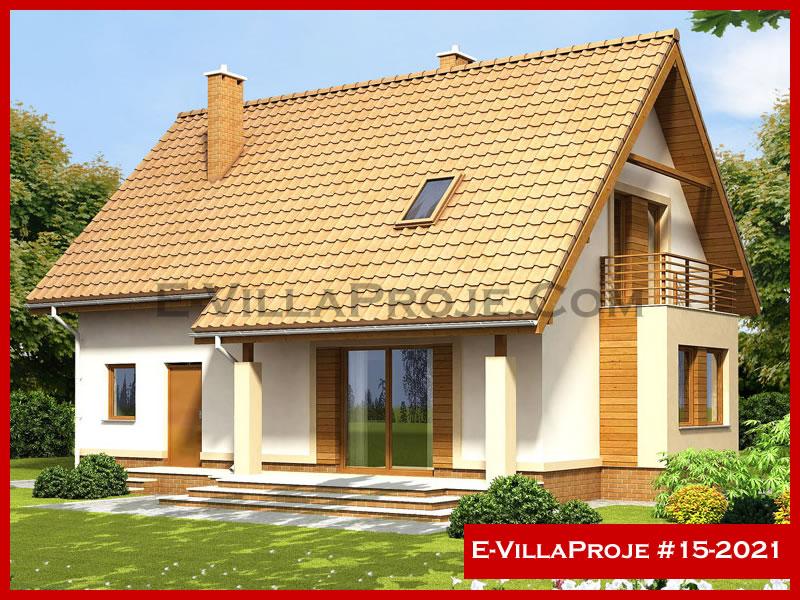E-VillaProje #15-2021, 2 katlı, 4 yatak odalı, 172 m2